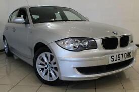 2007 57 BMW 1 SERIES 1.6 116I ES 5DR 114 BHP