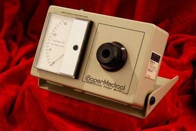 Cooper Medical Distal Laser Power Meter Ranges 0-15mw And 1-15 Watt