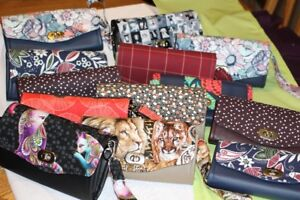 Ladies Handmade Clutch / Cell Phone Wallets