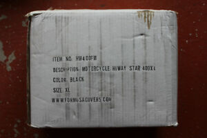 Motorcycle Cover with Lock: $50 (Never Used)