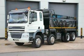 2013 (63) DAF CF 85.410 8X4 Tipper