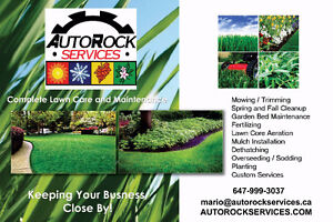 Lawn Maintenance Service and Care: Mowing, Cleanup, Fertilizing
