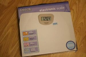 Taylor 7023 Electronic Bathroom Scale