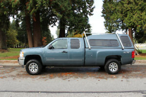 2013 Chevy Silverado LT 117000 Highway KMS Ext Cab Long Box