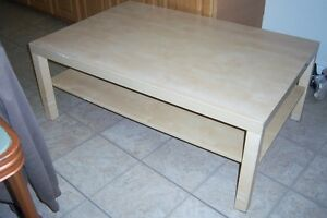 washed Oak Coffee Table 47' x 31'
