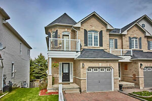 Gorgeous All Brick EndUnit Freehold Townhome W/Finished Walk-Out