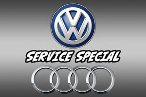 VW & AUDI  Service Specials Limited Time