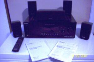 SONY AUDIO SYSTEM W/REMOTE