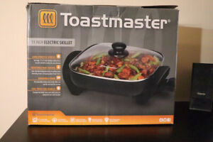 Toastmaster 11-inch Electric Skillet 20$ (OBO)