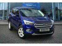 2018 Ford Kuga 1.5 TDCi Zetec 5dr 2WD **Keyless Start, Rear Parking Sensors** Ma
