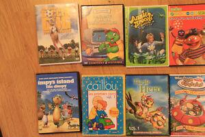 Lot de 12 dvd pour enfants