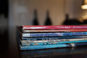 Vinyl records for sale- downsizing collection