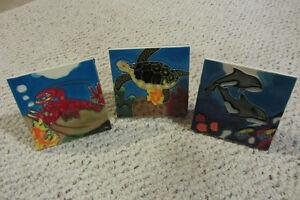 Ceramic Nautical themed tiles (set of 3) Regina Regina Area image 1