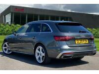 2020 Audi A4 Avant S line 40 TFSI 190 PS S tronic Semi Auto Estate Petrol Autom