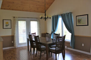 Stunning, Newer Home in Cambridge Narrows with Nice Lake Views!