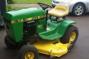 REDUCED - For Sale or trade John Deere Model 116 Lawn Tractor