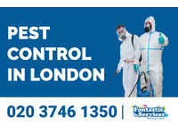 Pest Control Services available in whole London | Get a FREE quote now!
