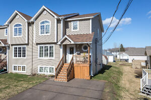 3 Berry -ONE OF A KIND SEMI-DETACHED NEAR UNIVERSITY OF MONCTON!