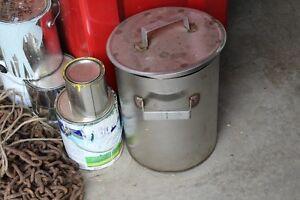 Lobster pot & truck tube for the lake,