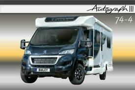 Bailey Autograph III 74-4, NEW 2020, 4 Berth, Motorhome