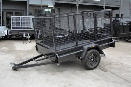 8x5 Cage Trailer - Single Axle - 3ft Cage - 750kg GVM Thomastown Whittlesea Area Preview