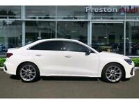 2021 Audi A3 Saloon TFSI 310 PS S tronic Auto Saloon Petrol Automatic