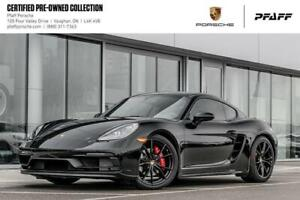 2018 Porsche 718 Cayman GTS - CPO, Clean CARFAX, LOW KMS!