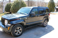 2008 Jeep Liberty + 4 goodwinter tires