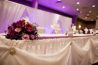 Linens for Rent *Tablecloths *Chair Covers * Backdrops