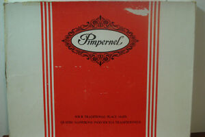 Pimpernel English Placemats