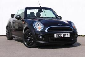 2013 MINI CONVERTIBLE 1.6 One 2dr