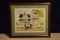 """Walter Campbell - """"Wedding Day"""" signed print"""