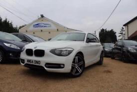2014 64 BMW 1 SERIES 2.0 116D SPORT 3D 114 BHP DIESEL