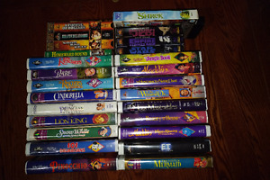 Classic VHS movies - Disney/Star Wars/Clint Eastwood etc..