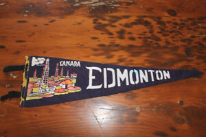 Old Felt Pennant - Edmonton, Canada