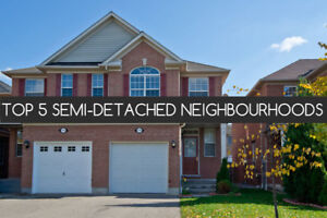 Mississauga Lorne Park Semi-Detached Homes Under725K