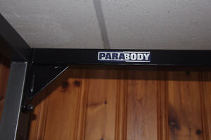 Parabody Squat Rack + Bench + Olympic bar + 280lbs Weight - MINT West Island Greater Montréal image 10