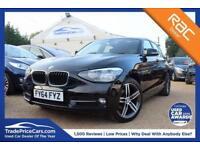 2014 64 BMW 1 SERIES 2.0 116D SPORT 5D 114 BHP DIESEL