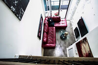 FULLY FURNISHED LOFT IN LIBERTY VILLAGE