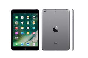 Wow!!! iPad Mini Wi-Fi et cellulaire 16gb gravé noir