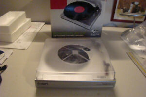 Ion USB Powered LP-to-MP3 Turntable