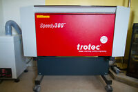 Laser Engraver -Speedy 300-45 Watt pristine condition must sell