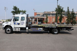 24/7 TOW TRUCK CALGARY + flatbed towing +winching 403-542-9896