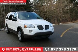 2009 Pontiac Montana SV6 FWD VALUE PRICED & SAFETY INSPECTION...