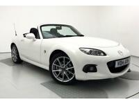 2014 Mazda MX-5 2.0i Sport Tech 2dr Petrol white Manual