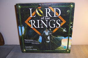 Lord of the Rings LOTR Epic Board Game