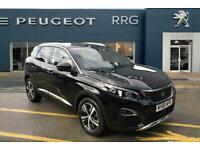 2018 Peugeot 3008 1.5 BlueHDi GT Line (s/s) 5dr Diesel black Manual