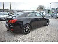Lexus IS 250 2.5 Sport 2007MY 4 DOOR MANUAL+BLACK