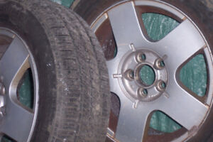195x65x15 tires with rims