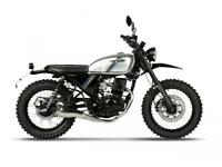 2018 HANWAY HS125 SCRAMBLER..45.60 OVER 60M WITH A 99 POUNDS DEP.9.9% APR.